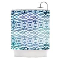 KESS InHouse Pom Graphic Design Tribal Empire Shower Curtain (69x70)
