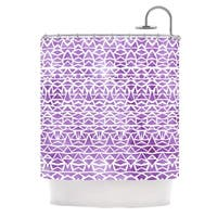 KESS InHouse Pom Graphic Design Tribal Mosaic Shower Curtain (69x70)