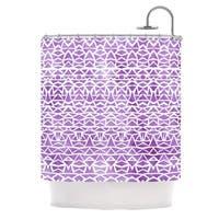 KESS InHouse Pom Graphic Design Tribal Mosaic Shower Curtain (69x70)