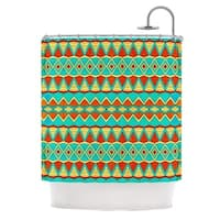 KESS InHouse Pom Graphic Design Tribal Soul Shower Curtain (69x70)