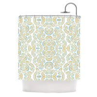 KESS InHouse Pom Graphic Design Infinite Thoughts Shower Curtain (69x70)