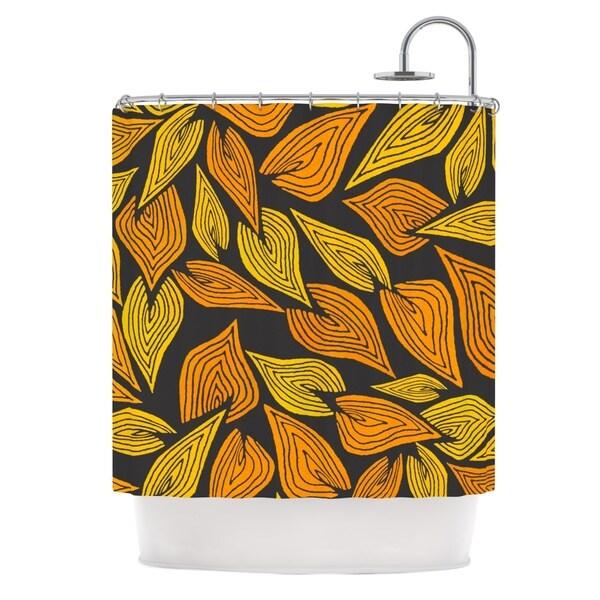 KESS InHouse Pom Graphic Design Autumn II Shower Curtain (69x70)