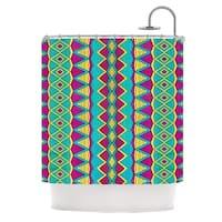 KESS InHouse Pom Graphic Design Tribal Soul II Shower Curtain (69x70)