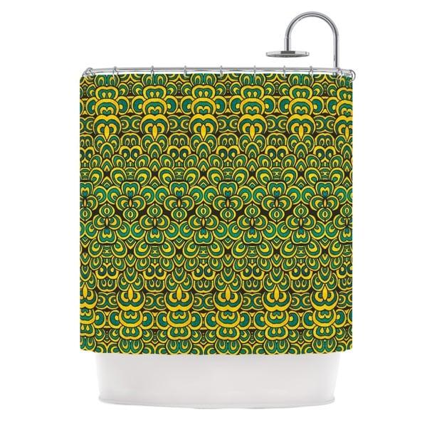 KESS InHouse Pom Graphic Design Animal Temple II Shower Curtain (69x70)