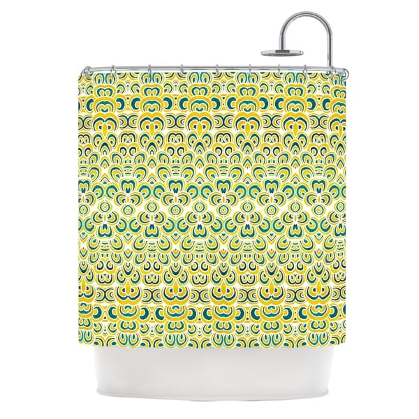 KESS InHouse Pom Graphic Design Animal Temple Shower Curtain (69x70)