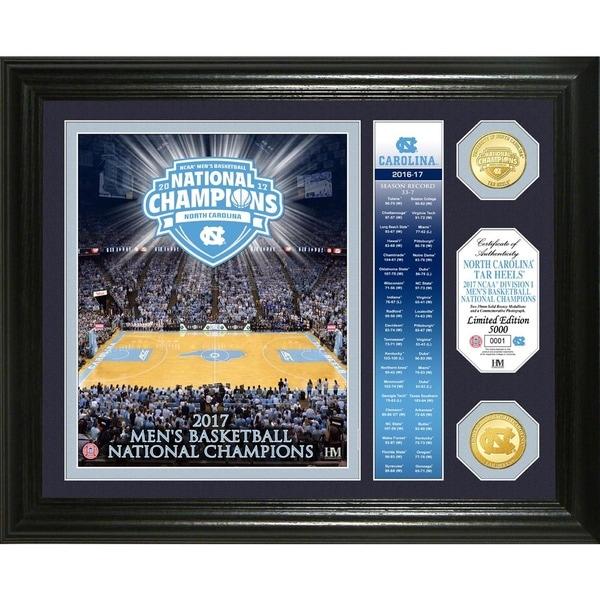 "2017 NCAA Men's Basketball National Champions ""Banner"" Bronze Coin Photo Mint (North Carolina)"