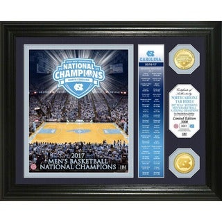 "2017 NCAA Men's Basketball National Champions ""Banner"" Bronze Coin Photo Mint (North Carolina)"