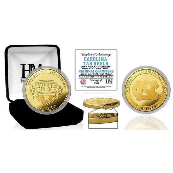 2017 NCAA Men's Basketball National Champions Gold Mint Coin (North Carolina)