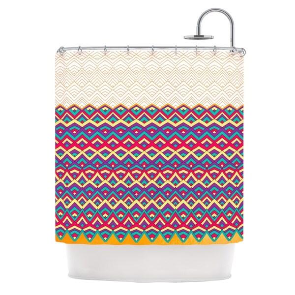 KESS InHouse Pom Graphic Design Horizons III Shower Curtain (69x70)