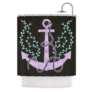 kess inhouse pom graphic design tribal nautica i shower curtain 69x70