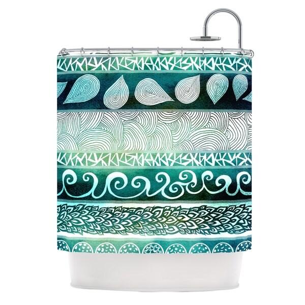 KESS InHouse Pom Graphic Design Dreamy Tribal Shower Curtain (69x70)