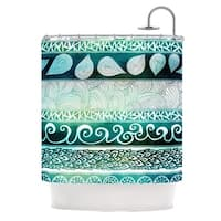 KESS InHouse Pom Graphic Design Dreamy Tribal Shower Curtain (69x70)