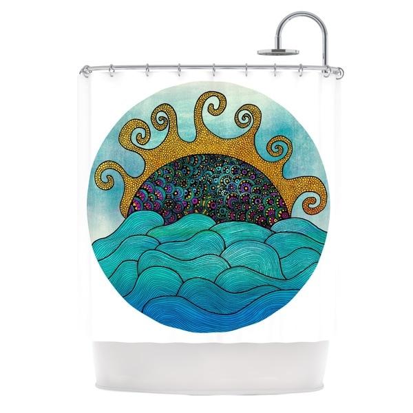 KESS InHouse Pom Graphic Design Oceania Shower Curtain (69x70)
