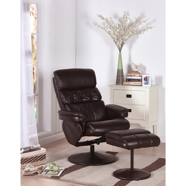 Shop K And B Furniture Co Inc. Relax Chair With Ottoman