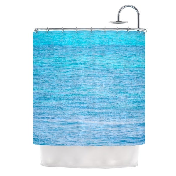 KESS InHouse Catherine McDonald South Pacific II Ocean Water Shower Curtain (69x70)