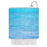 KESS InHouse Catherine McDonald South Pacific II Ocean Water Shower Curtain (69x70)