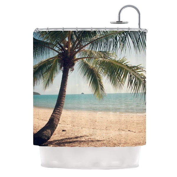 KESS InHouse Catherine McDonald Tropic of Capricorn Ocean Photography Shower Curtain (69x70)