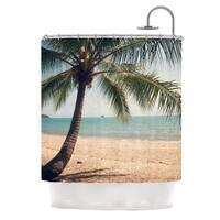 KESS InHouse Catherine McDonald Tropic of Capricorn Ocean Photography Shower Curtain (69x70)