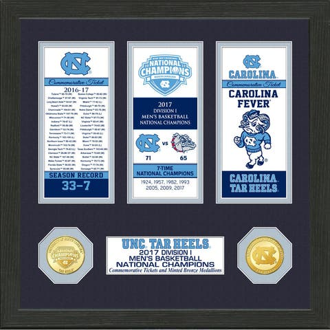 2017 NCAA Men's Basketball National Champions Ticket Collection (North Carolina)