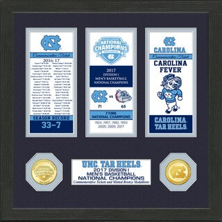2017 NCAA Men's Basketball National Champions Ticket Collection (North Carolina)