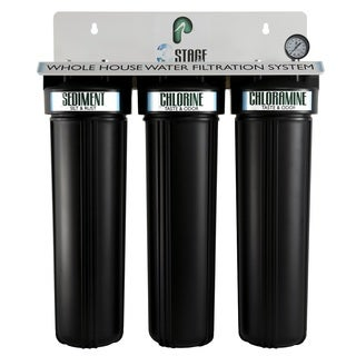 Pelican Water 3 Stage Whole House Water Filtration System