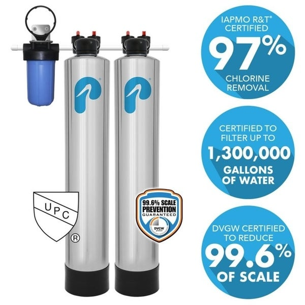 Shop 15 Gpm Whole House Water Filtration And Natursoft Saltfree. 15 Gpm Whole House Water Filtration And Natursoft Saltfree Softener System. Wiring. Whole House Filter And Softener Diagram At Scoala.co