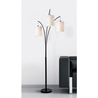 Buy black floor lamps online at overstock our best lighting deals willow arc floor lamp aloadofball Images