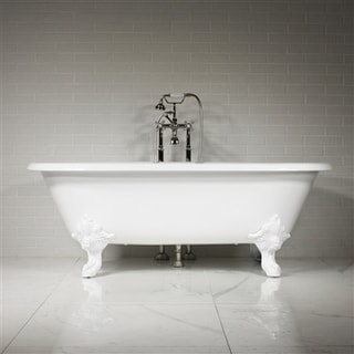 The Minster 73 inch Cast Iron Double Ended Tub Package