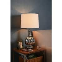 Moon 29-inch Table Lamp - Chrome