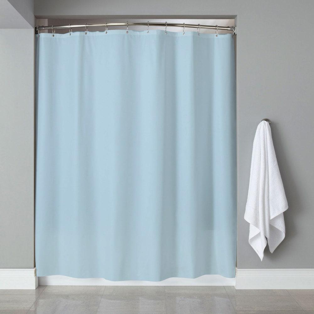 Rose 3-Gauge Vinyl Shower Curtain Liner with Metal Grommets /& Magnets