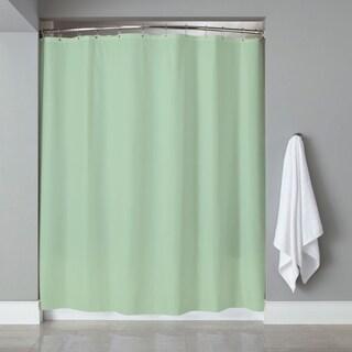 "6-Gauge Deluxe Hotel Weight Vinyl Shower Curtain Liner (70""x72"") - blue, jade or rose"