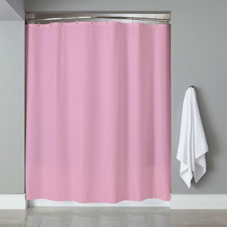 "6-Gauge Deluxe Hotel Weight Vinyl Shower Curtain Liner (70""x72"") - blue, jade or rose"