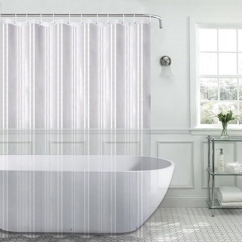 PEVA 8-Gauge Shower Curtain Liner Assorted Colors