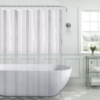 PEVA 8-Gauge Shower Curtain Liner Assorted Colors
