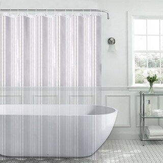 "100% PEVA 8 Gauge Shower Curtain Liner (70""x72"") Assorted Colors"