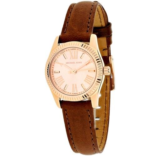 Michael Kors Womens MK2540 Lexington Mini Watches Lexington Mini Rose-Tone