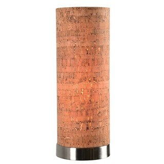Strick & Bolton Laurindo Cork Shade Uplight Accent Lamp