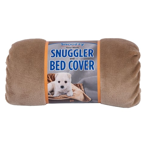 Precision Snoozzy Rustic Elegance Plush Dog Blanket - 27 x 35