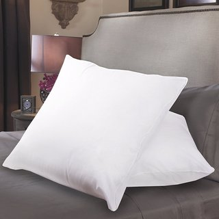 Down Alternative Euro Square Pillow with Cover