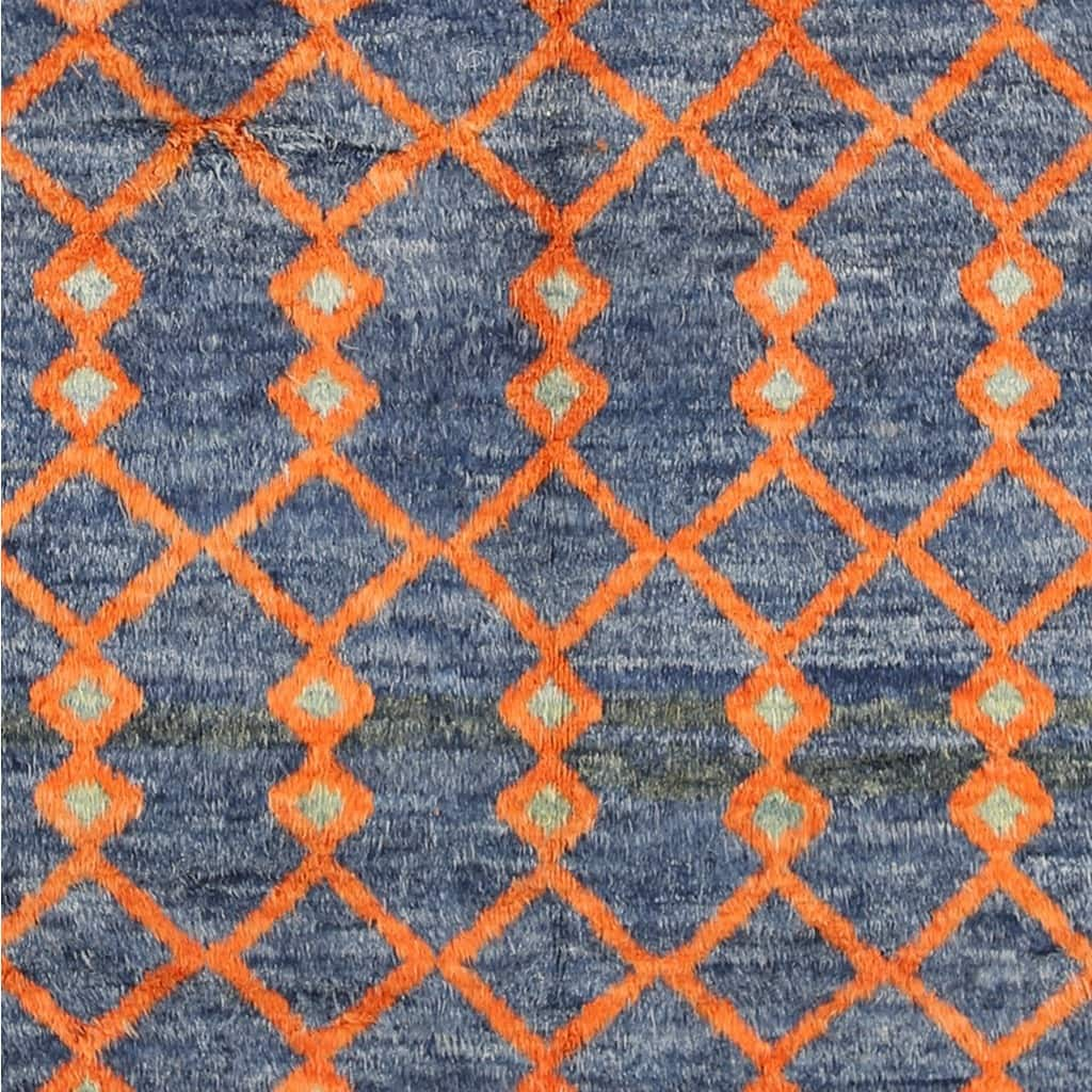 Shop Oriental Persian Gabbeh Shades Of Orange Hand Knotted: Buy 8' X 10' Area Rugs Online At Overstock