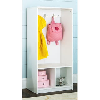 ClosetMaid KidSpace White Two Tier Storage Locker