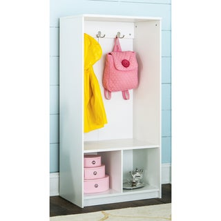ClosetMaid KidSpace White Two Tier Storage Locker