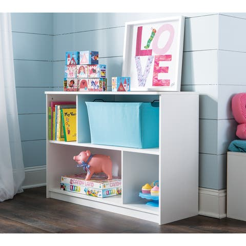 ClosetMaid KidSpace White 2-Tier Offset Bookcase