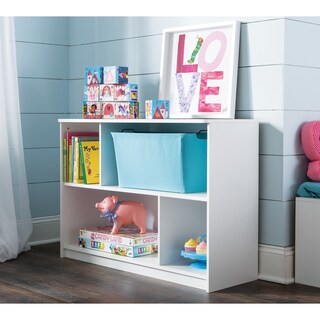 ClosetMaid KidSpace White 2-Tier Offset Bookcase
