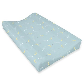 Oliver Gal Signature Collection 'Sheep & Moon' Changing Pad Cover