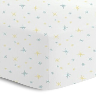 Oliver Gal Signature Collection 'Stars' Printed Crib Sheet