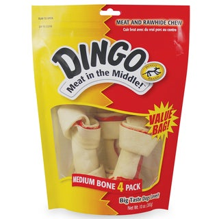 8 in 1  Dingo Dog Treats 4 Count