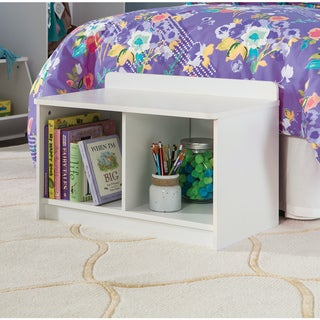 Link to ClosetMaid Kidspace White Small Storage Bench Similar Items in Kids' & Toddler Chairs