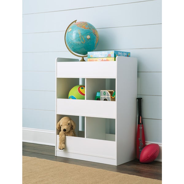 ClosetMaid KidSpace White Vertical Toy Organizer  sc 1 st  Overstock.com & Shop ClosetMaid KidSpace White Vertical Toy Organizer - Free ...