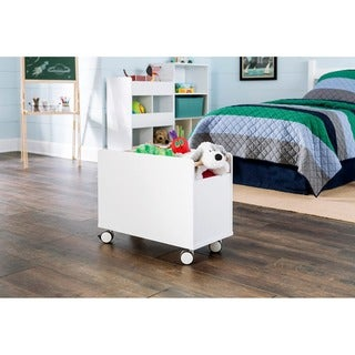 ClosetMaid KidSpace White Toy Chest with Wheels